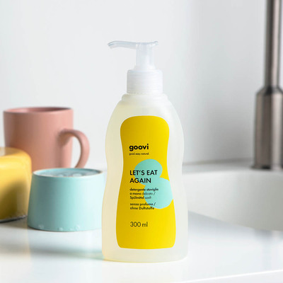 Delicate detergent for hand-washing dishes