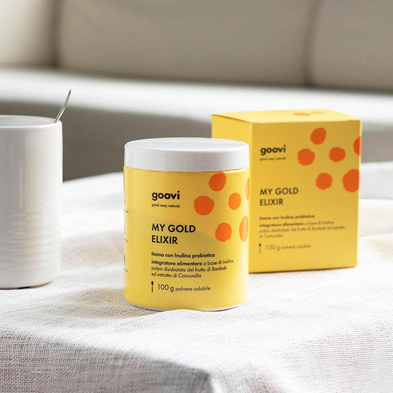 Prebiotic tea dietary supplement