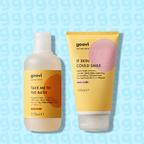 body wash + body lotion
