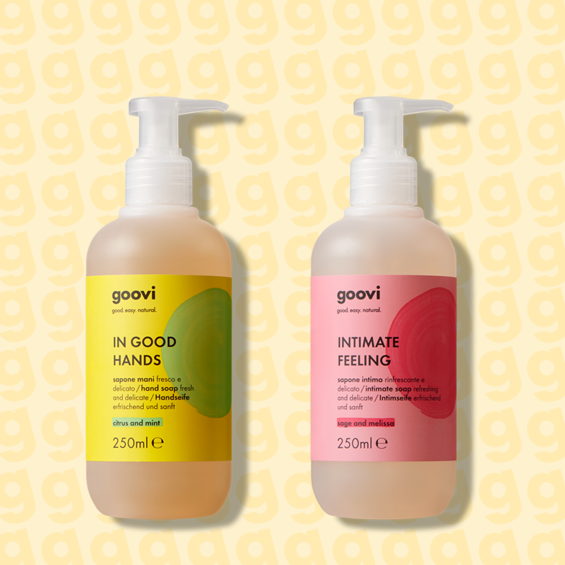 hand soap + intimate hygiene soap