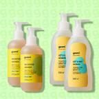 hand soap + washing up liquid (X2)