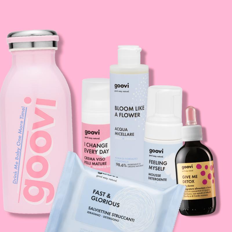 Skincare Complete + detox + bottiglia omaggio