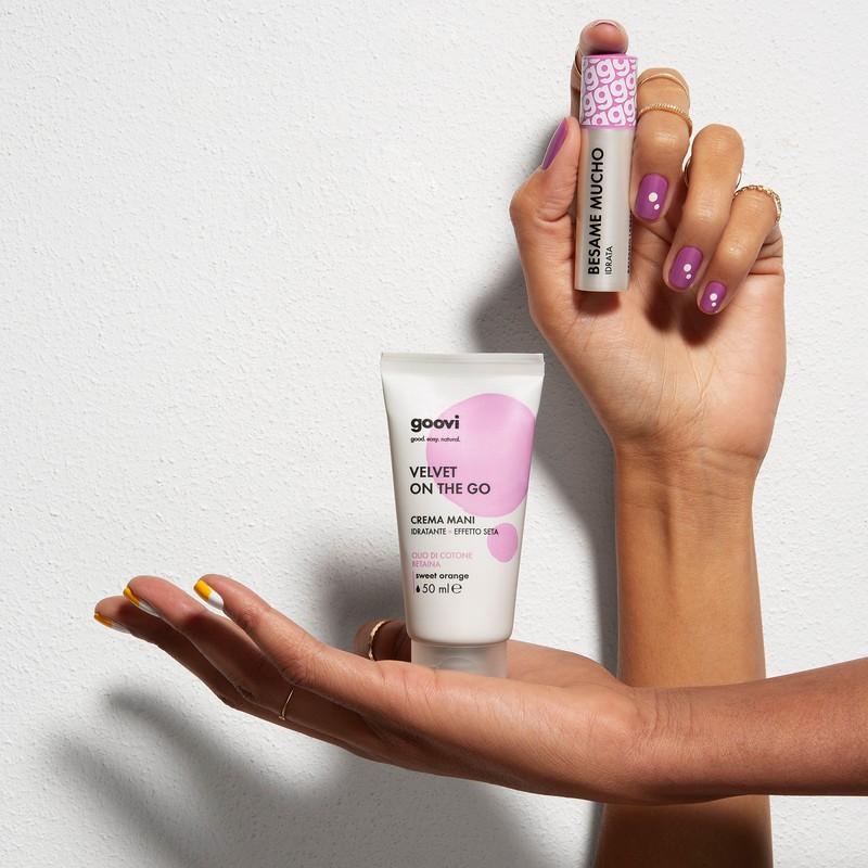 crema mani  + balsamo labbra