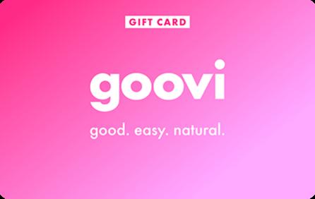 gift card goovi